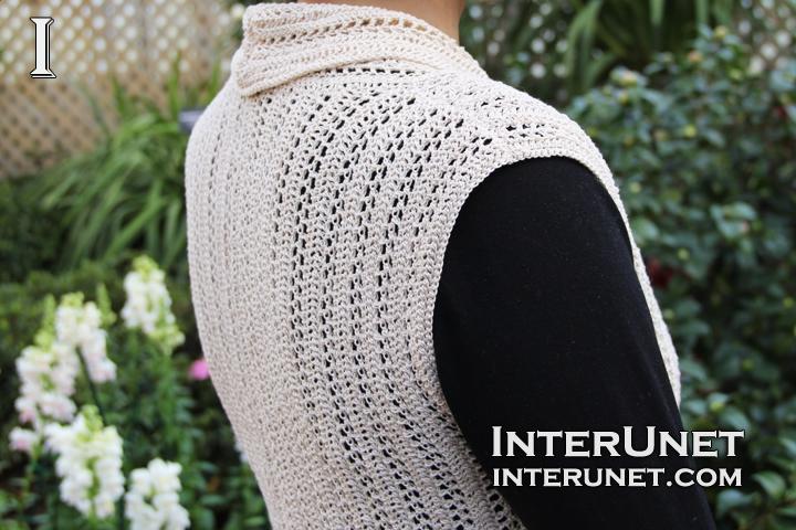 crochet-sleeveless-cardigan