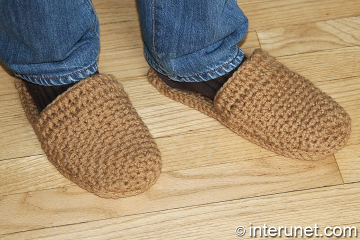 crochet-men's-slippers-pattern