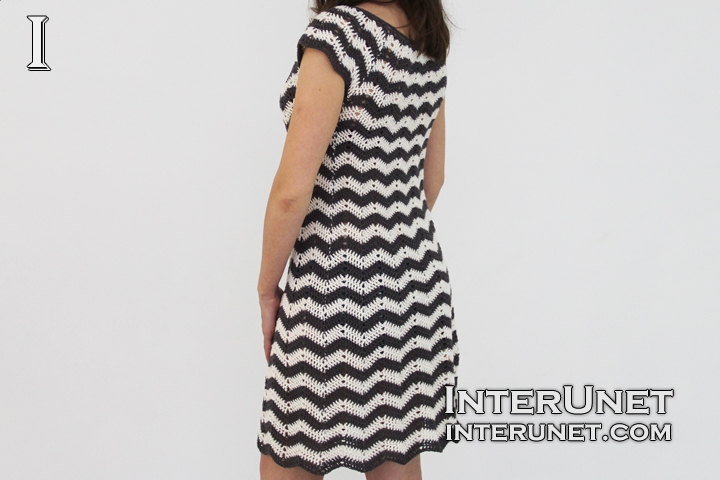 crochet-striped-dress