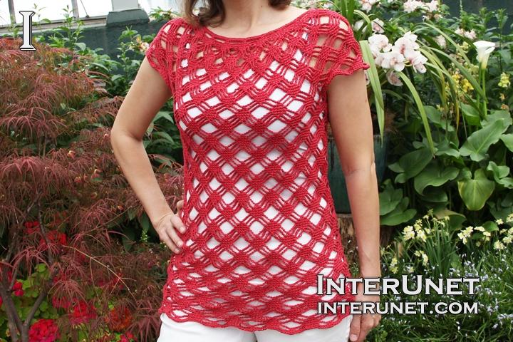 crochet-pullover-top