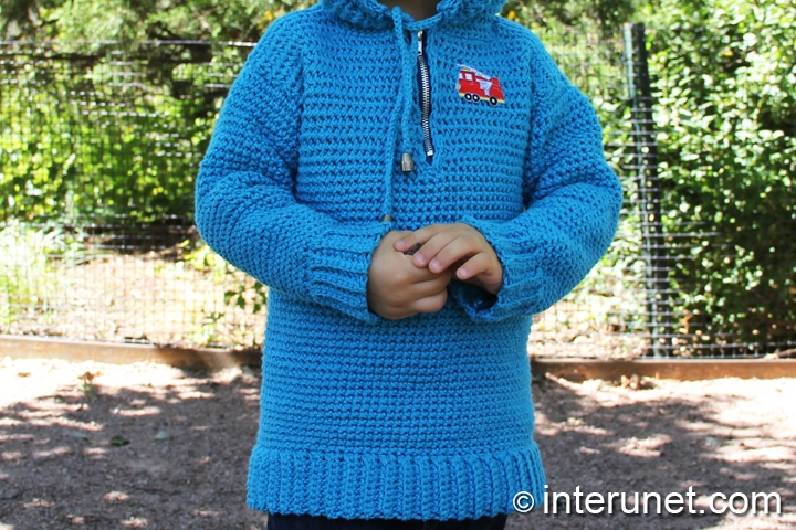 crochet-hoodie-for-child