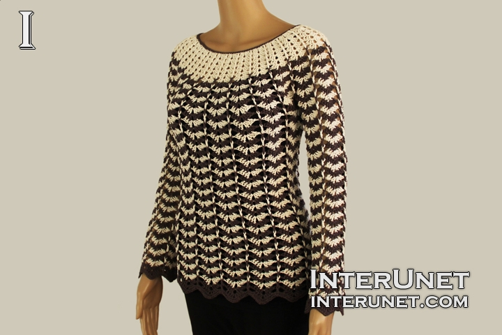 sweater-crochet-with-sleeves