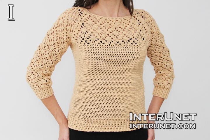 long-sleeve-crochet-sweater