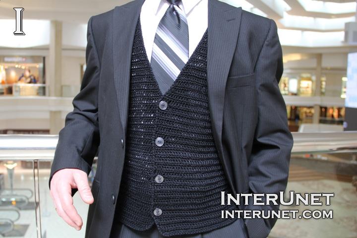 men's-vest-crochet-pattern