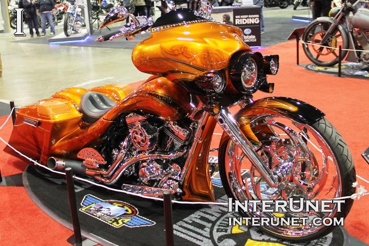 Harley-Davidson-modified-custom-built