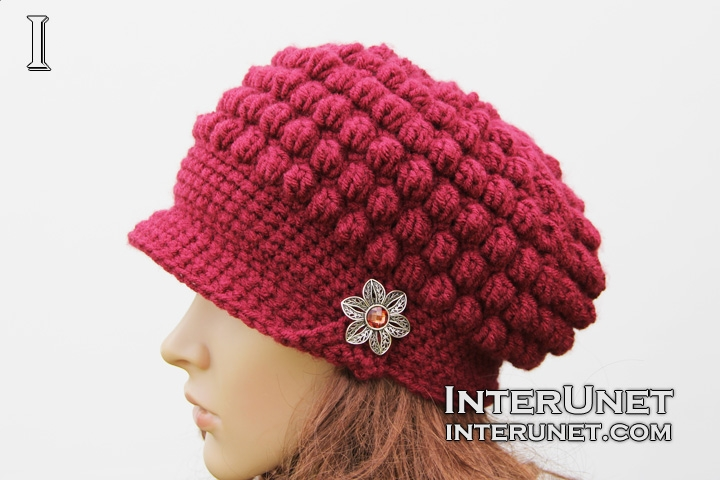 hat-with-brim-crochet