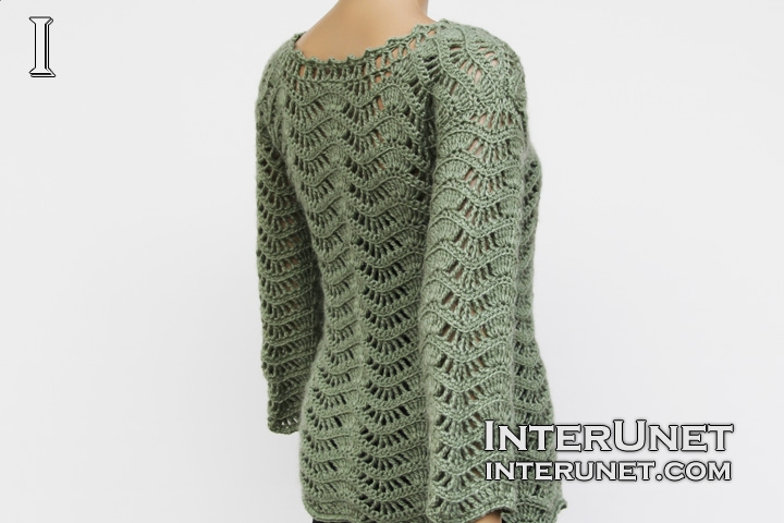 Lace Cardigan Crochet Pattern Interunet