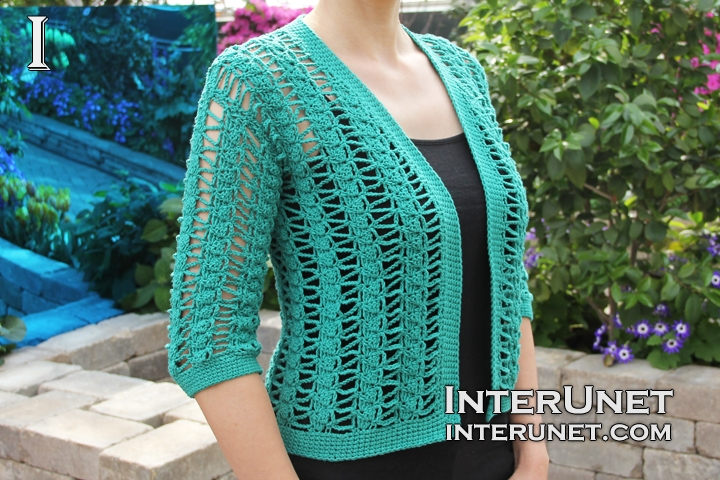 Crochet Cardigan Pattern Interunet