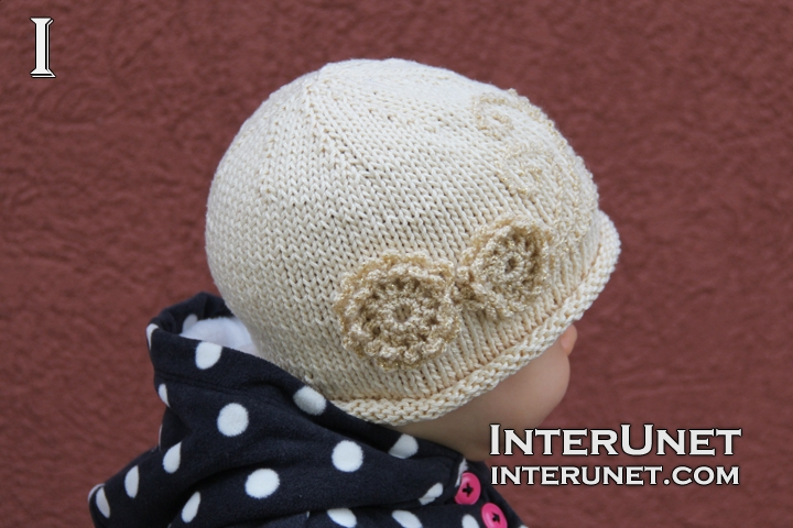 knitted-hat-crochet-flower
