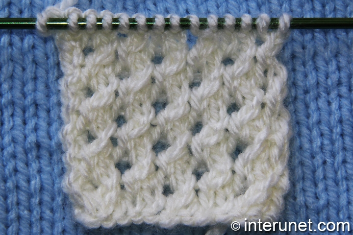 bee-cells-knitting-pattern