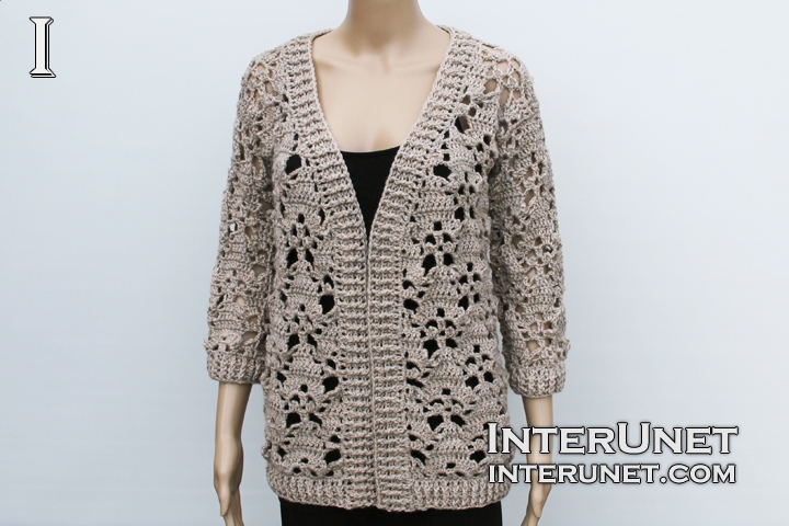 Jacket Crochet Pattern Interunet