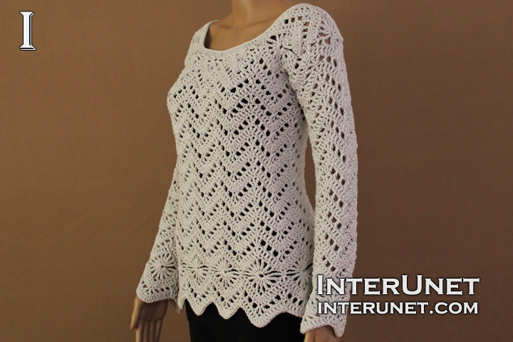 lace-sweater