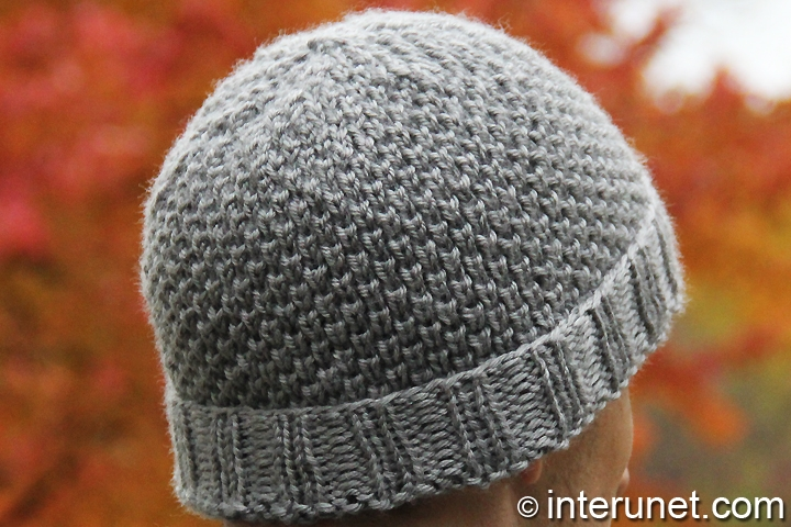 men's-hat-knitting-pattern