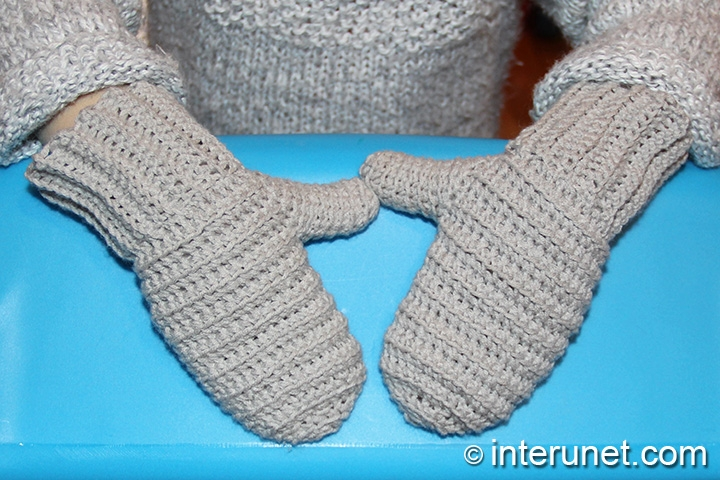 Crochet Mittens For A Child Interunet