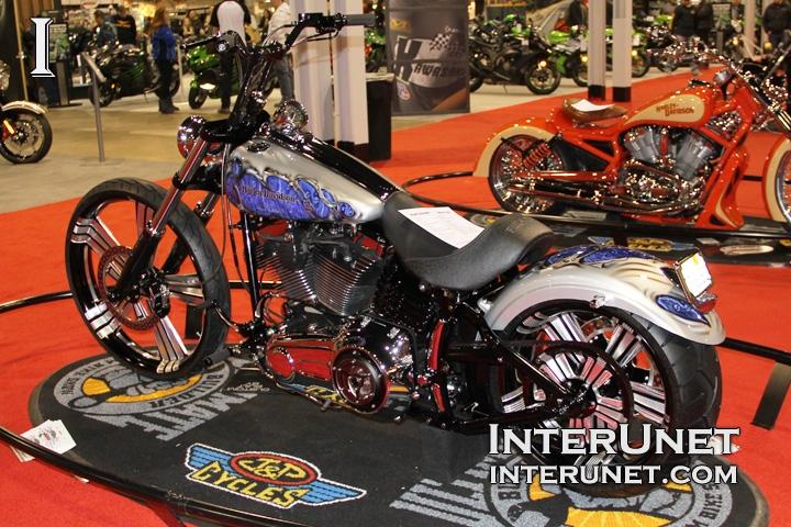 Harley-Davidson modified