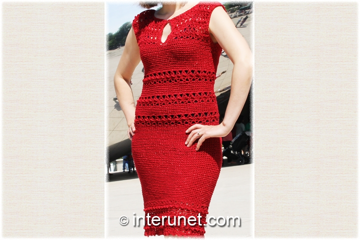 crochet-night-red-dress