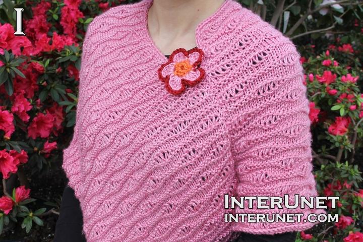 knit-pink-poncho