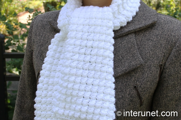 Crochet Patterns Easy Scarf : crochet scarf