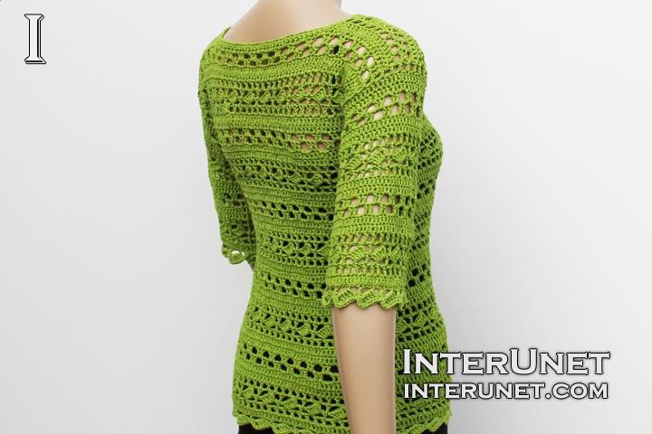 short-sleeve-sweater-crochet