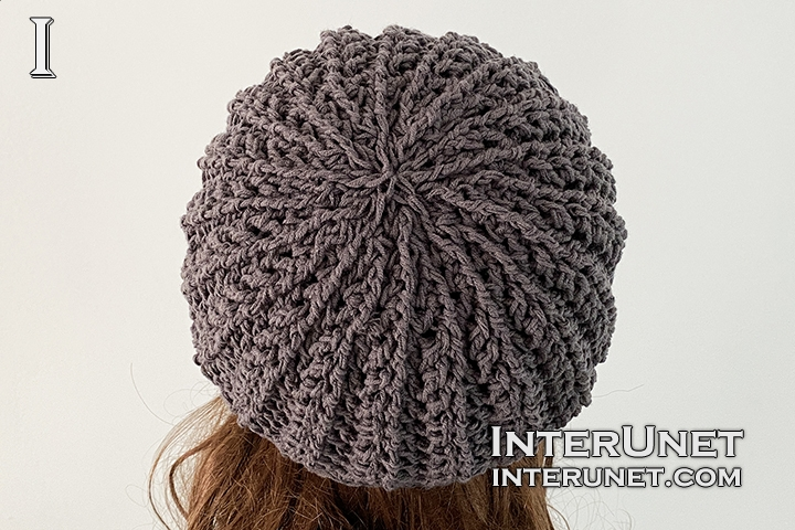 slouchy hat crochet pattern free DIY tutorial