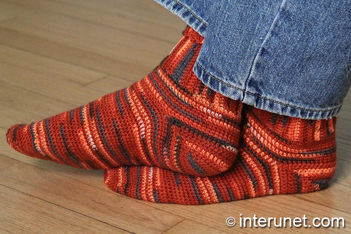 Crochet Socks Easy To Follow Stitch Interunet