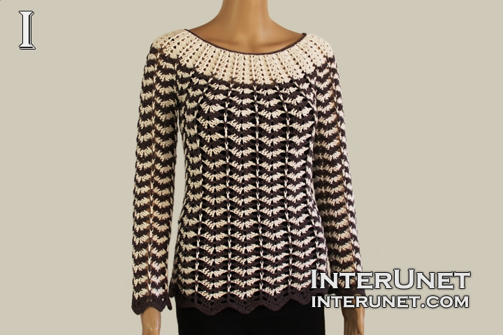Striped Sweater Crochet Pattern Interunet