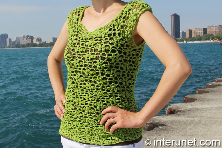 green-summer-blouse-crochet-pattern