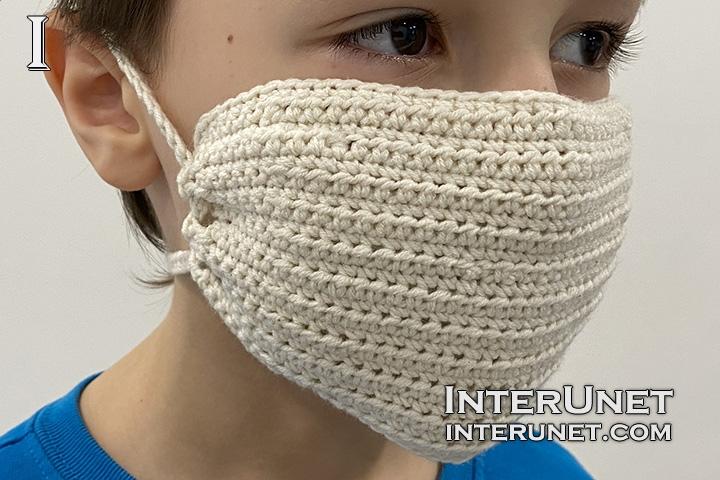 virus protective mask crochet