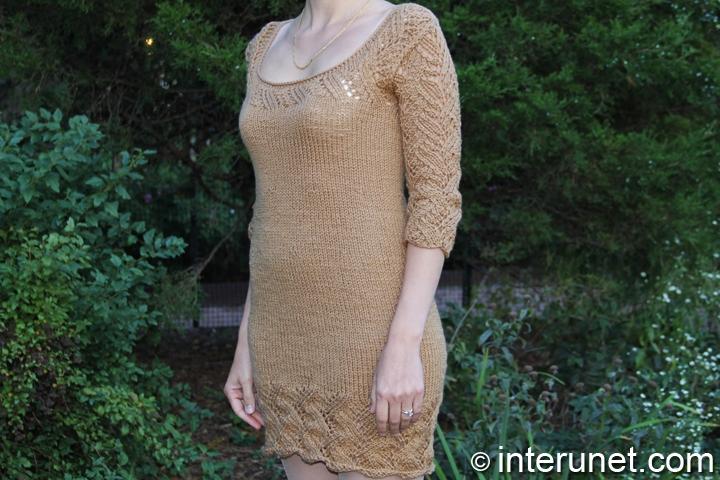 women's-dress-knitting-pattern