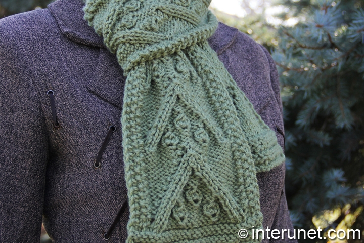 women's-scarf-knitting-pattern