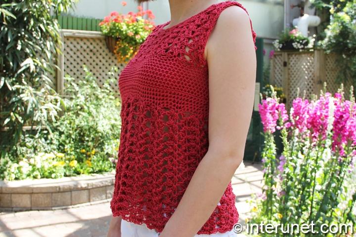 women's-summer-blouse-crochet-pattern