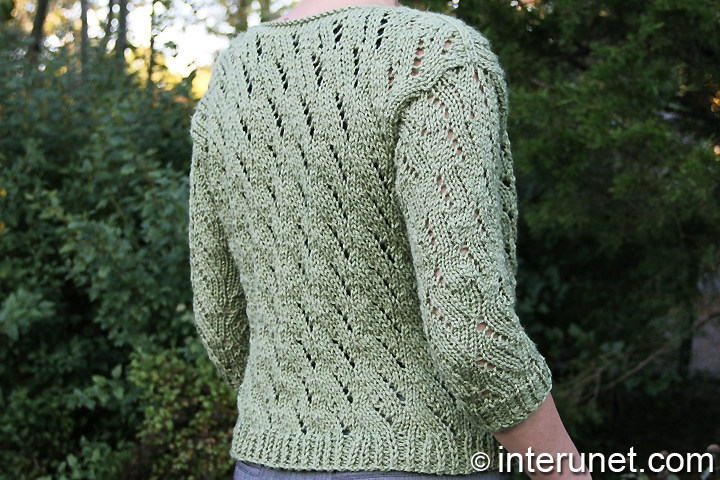 Women s Cardigan Knitting Pattern : How to knit a cardigan for a woman interunet
