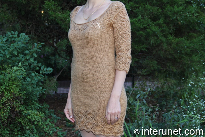 women's-dress-knitting-pattern