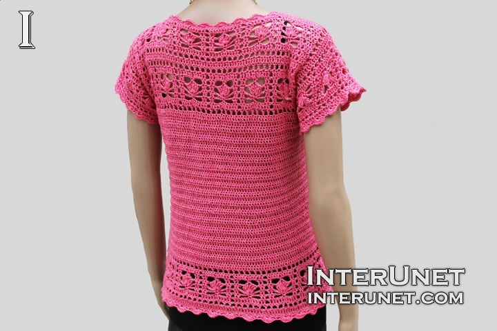 crochet-women's-pink-summer-top
