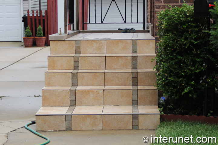 tile-installed-on-steps-and-porch