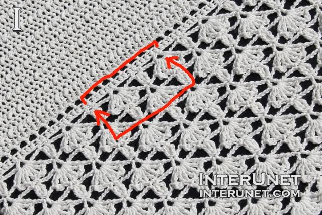 white ivy crochet stitch gauge