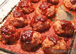 baked-meatballs-in-barbecue-sauce