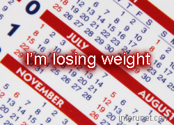 schedule-for-losing-weight