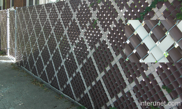 Chain link fence stylish privacy slats picture interunet chain link fence stylish privacy slats workwithnaturefo