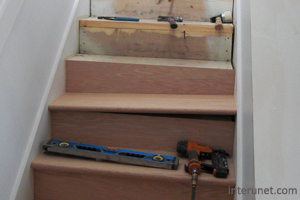 Hardwood Stairs Installation