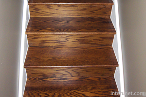 Hardwood On Stairs
