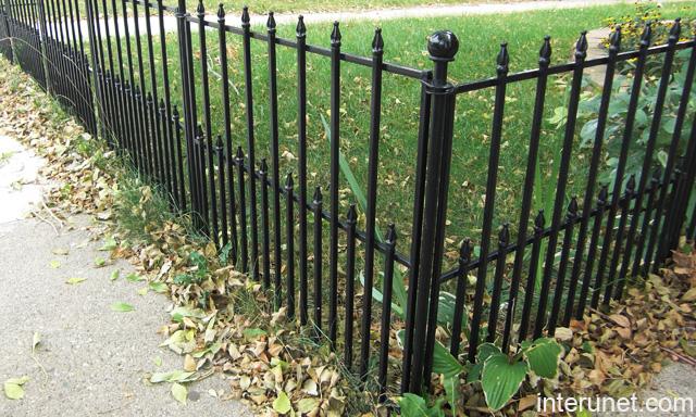 Decorative Wire Fencing : Decorative wire fences