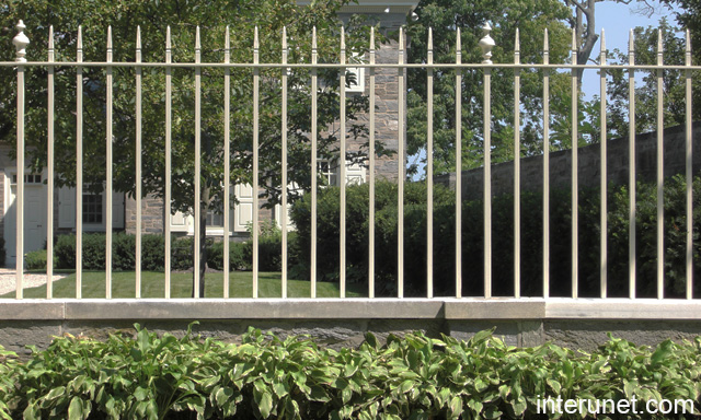 Metal fence designs images - Metal fence designs pictures ...
