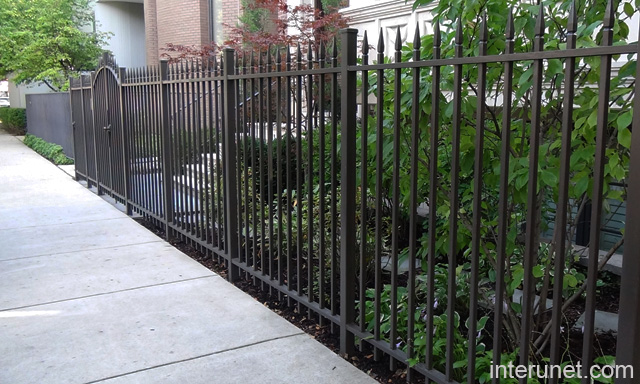 Metal fence designs related keywords suggestions metal - Metal fence designs pictures ...