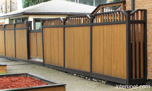 Fence ideas types installation cost design interunet privacy fence wood workwithnaturefo