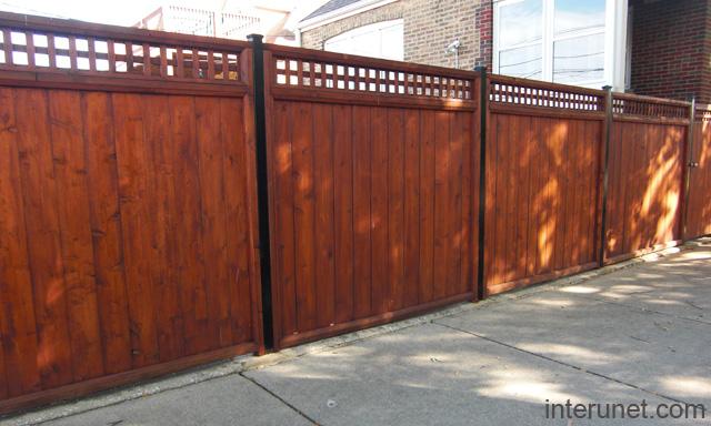 Wood Fence Designs Joy Studio Design Gallery Best Design