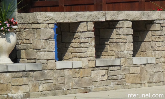 Stone fence design picture interunet