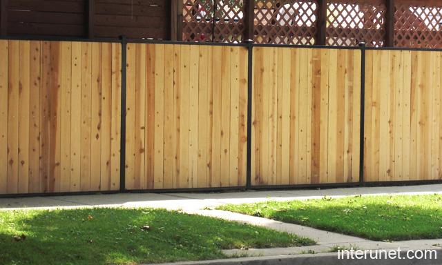Cedar Fence Designs Fence ideas types installation cost design interunet wood cedar fence workwithnaturefo