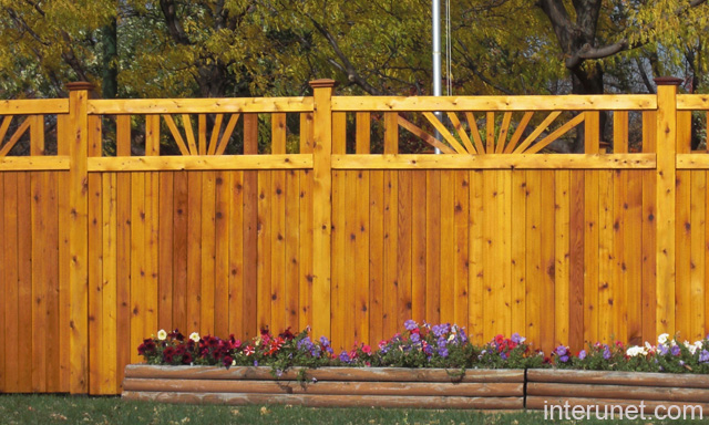 wood fence design ideas - Fence Design Ideas