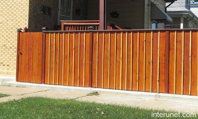 Wooden Fence Designs for Pinterest
